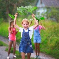Истории из детства. Счастливый дождик :: Екатерина Постонен