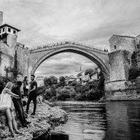 Старый мост,Мостар,Босния и Герцеговина :: Олег Семенов