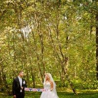 Свадебная прогулка в ботаническом саду :: Яна Яворская