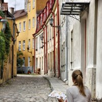 Виды Таллина №6 (художница) :: Pavel Stolyar