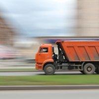 Flying lorry :: Олег Лебедев