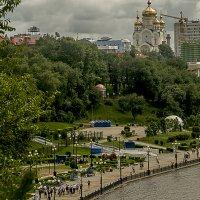 Хабаровск , набережная , критический уровень ! :: Евгений Ананевский