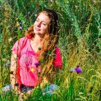 Ловим солнечные лучики :: Анастасия Норина