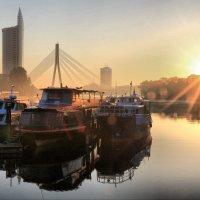 Утро в Риге :: Андрей Григорьев