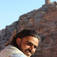 Неизвестный бедуин в Петре :: Aliona Kamdina