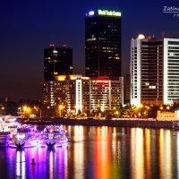 Вид на бизнес-центр на Краснопресненской набережной :: Natasha Zatinatskaya