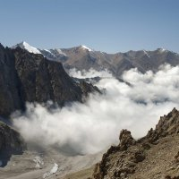 туман над ледником :: Михаил Генаев
