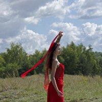Модель в красном. :: Татьяна