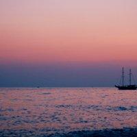 Розовый закат :: Diana Alekseevna
