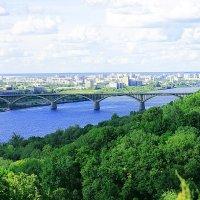 мост через Оку :: Мария Зверева
