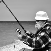 Старик и море :: Ольга Мальцева