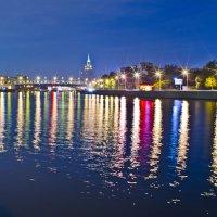 Краски ночной Москвы. :: Татьяна