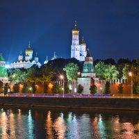 Подсветка Кремля. :: Татьяна