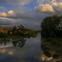 Вечерняя заводь :: Владимир Макаров