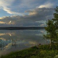 закат у озера Щучье :: Дмитрий Потапкин