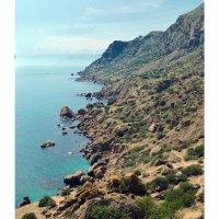 Затерянные уголки крымского побережья... Мыс Меганом... The lost corners of the Crimean coast... Cap :: Сергей Леонтьев