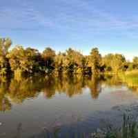 Вечер на озере. :: Анатолий