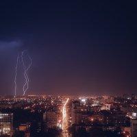 Сухая гроза над Краснодаром :: Krasnodar Pictures