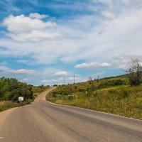 по дороге с облаками :: Ольга (Кошкотень) Медведева