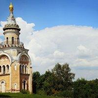 г. Торжок. Борисоглебский монастырь. Свечная башня. :: Oksanka Kraft