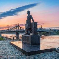 Пушкин на набережной :: Юлия Батурина