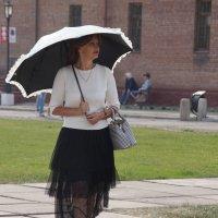 Под зонтом :: Наталия Григорьева