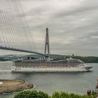 Круизный лайнер MSC Splendida :: Эдуард Куклин