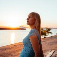 Прогулка при закате :: Яна Глазова