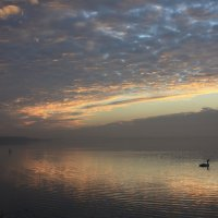Рассвет на озере :: Галина Козлова