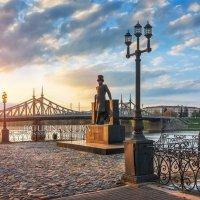 Пушкин на закате :: Юлия Батурина