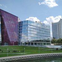 Здание-кристалл «Банка развития», г. Минск :: Tamara *
