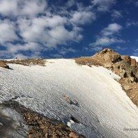 Восхождение на пик Молодежный (4 147 м). :: Anna Gornostayeva
