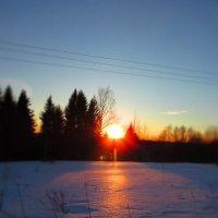 Свет уходящего солнца... :: Крылова Светлана
