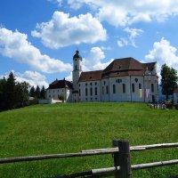 Wieskirche - Паломническая церковь в Висе... :: Galina Dzubina