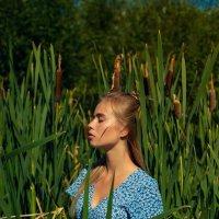Даша в траве :: Женя Рыжов