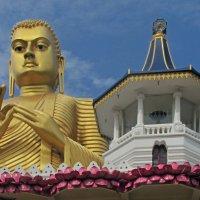 Золотой храм  в Дамбулле (фрагмент) :: ИРЭН@ .