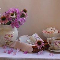 букет и чашка чая :: Татьяна