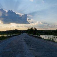 Озеро Черное. Дорога :: Александр Янкин