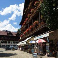 Сказочная деревушка -Обераммергау, Бавария... :: Galina Dzubina
