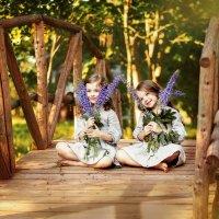 Алиса и Валерия :: Анастасия Дробышевская