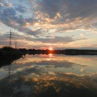 Закат над Ломпадью :: Анатолий Кувшинов