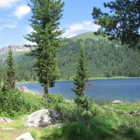 Озеро в горах :: Валерий