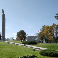 Обелиск «Минск — город-герой», монумент  «Родина-мать» и музей ВОВ, г. Минск :: Tamara *