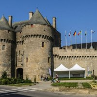 замок Геранд, Бретань :: Георгий