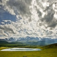 Озеро Джангызколь (Республика Алтай) :: Евгений Коркин
