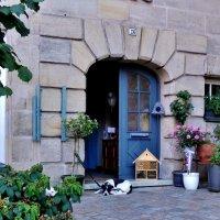 Лауф на Пегнитце ,красивый  и уютный  двор :: backareva.irina Бакарева