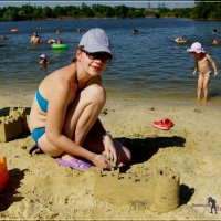 Замки из песка. :: Anatol Livtsov