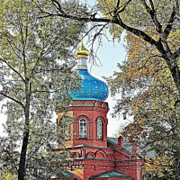 Храм Александра Невского во Пскове :: Leonid Tabakov