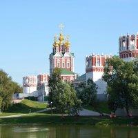 Москва. Новодевичий монастырь. :: Oleg4618 Шутченко