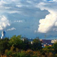 Небо над городом! :: Елена (Elena Fly) Хайдукова
